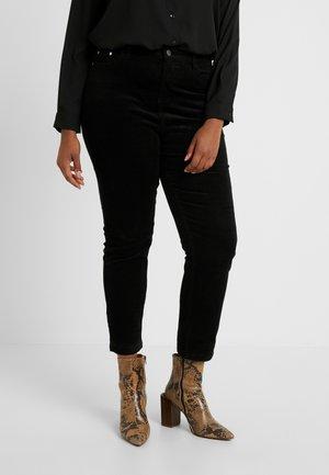 STRETCH MOM - Slim fit -farkut - black