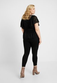 Simply Be - HIGH WAIST SHAPER - Jeans Skinny Fit - black - 2