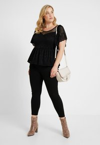 Simply Be - HIGH WAIST SHAPER - Jeans Skinny Fit - black - 1