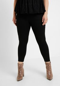 Simply Be - HIGH WAIST SHAPER - Jeans Skinny Fit - black - 0