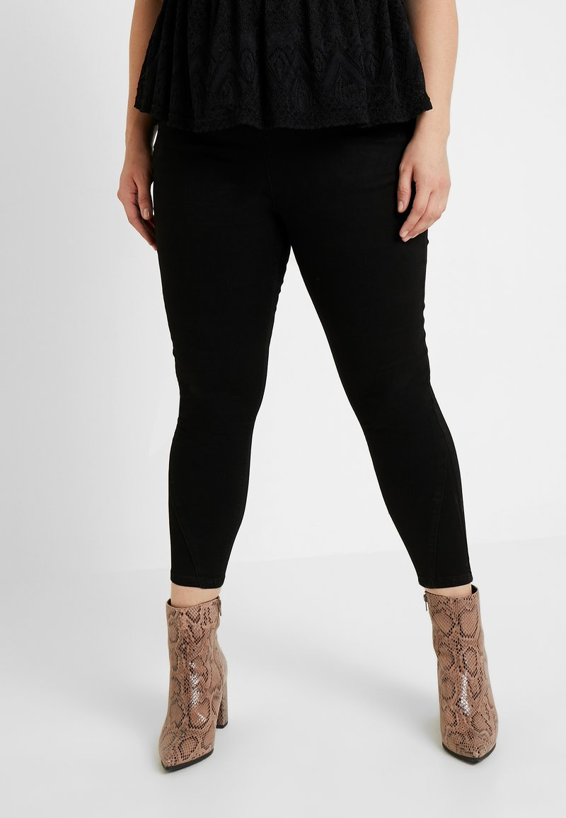 Simply Be - HIGH WAIST SHAPER - Jeans Skinny Fit - black