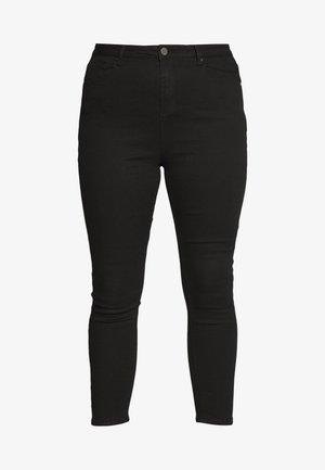 HIGH WAIST SKINNY - Jeans Skinny Fit - black