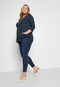 Simply Be - HIGH WAIST - Jeans Skinny Fit - rich indigo - 1