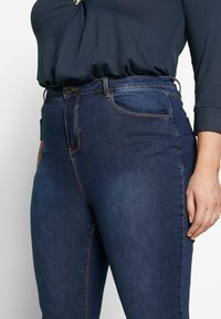 Simply Be - HIGH WAIST - Jeans Skinny Fit - rich indigo - 3