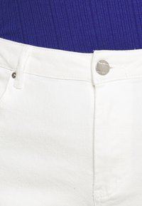 Simply Be - DEMI HIGH WAIST MOM - Jeans Skinny Fit - ecru - 3