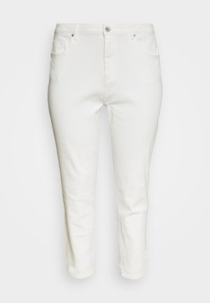 DEMI HIGH WAIST MOM - Jeans Skinny Fit - ecru
