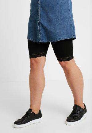 TRIM CYCLING SHORT - Shorts - black