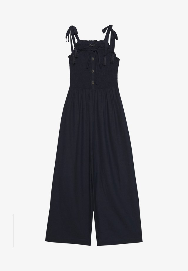 COLD SHOULDER - Jumpsuit - navy