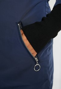 Simply Be - FUR LINED SPORTY PARKA WITH CUFF - Villakangastakki - navy - 5