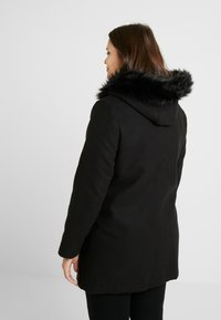 Simply Be - DUFFLE COAT - Kort kåpe / frakk - black - 2