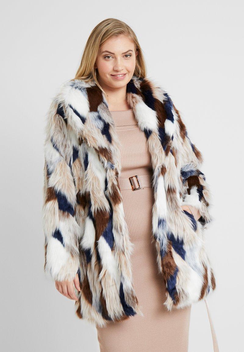 Simply Be - PATCHWORK COAT - Veste d'hiver - multi