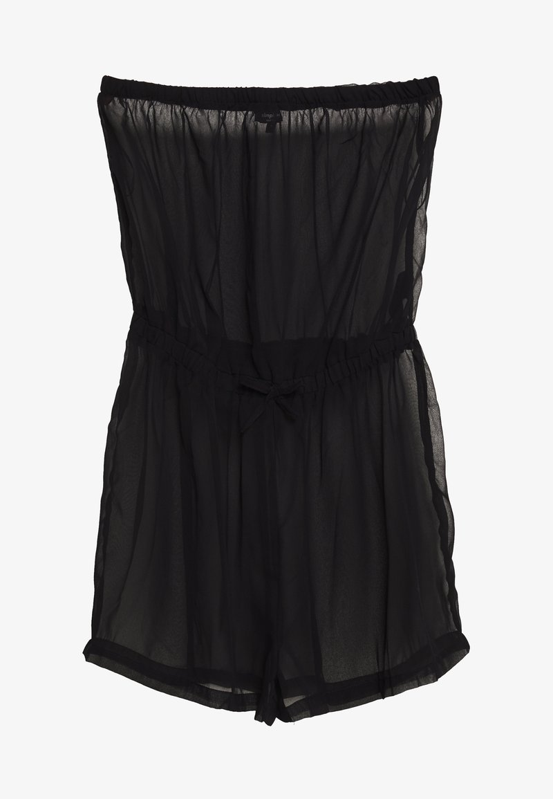 Simply Be - MIX AND MATCH BEACH PLAYSUIT - Beach accessory - black