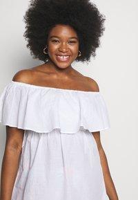 Simply Be - VALUE BARDOT BEACH DRESS - Strand accessories - white - 3