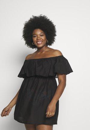 VALUE BARDOT BEACH DRESS - Complementos de playa - black