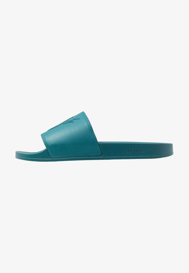 SIKSILK - SLIDES - Pool slides - teal