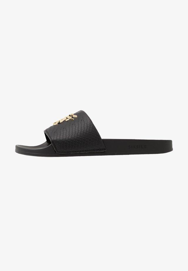 ROMA SLIDES - Pantofle - black