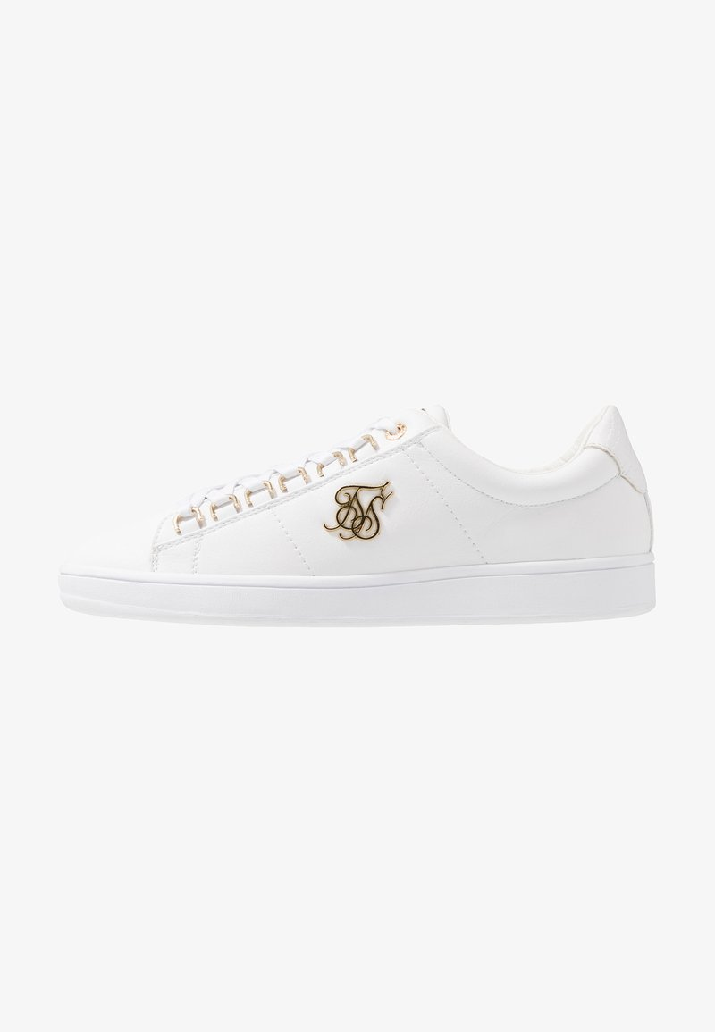 SIKSILK - PRESTIGE - Sneakers - white/gold