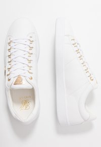SIKSILK - PRESTIGE - Sneakers - white/gold - 1