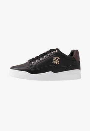 D-RING PURSUIT - Sneakers basse - black/burgundy