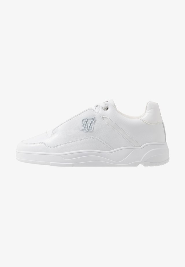 BLAZE LUX - Trainers - white/silver