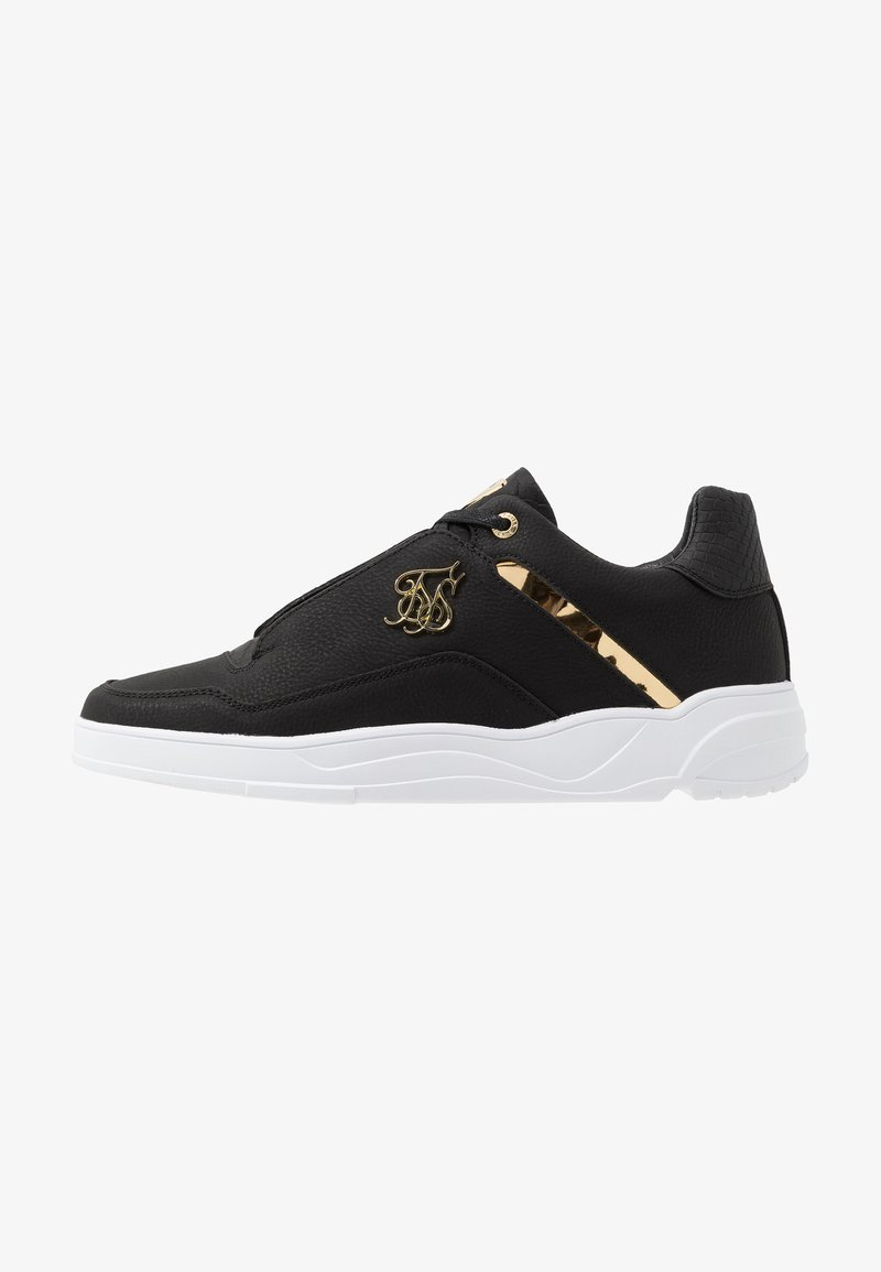 SIKSILK - SIKSILK BLAZE LUX - Trainers - black/gold