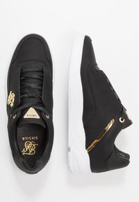 SIKSILK - SIKSILK BLAZE LUX - Trainers - black/gold - 1