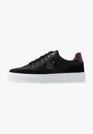 GRAVITY - Sneakers laag - black/burgundy