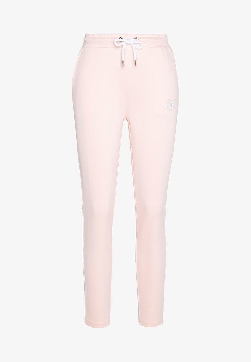 SIKSILK - TAPE TRACK PANTS - Teplákové kalhoty - cloud pink