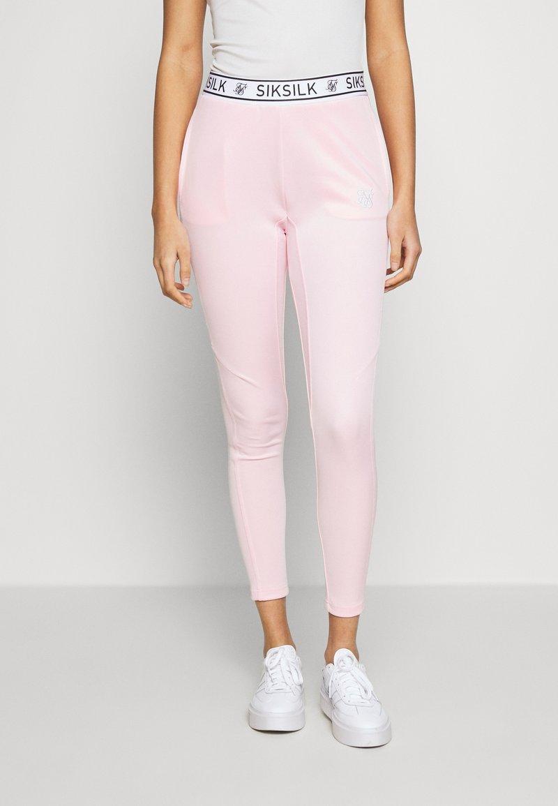 SIKSILK - ATHLETE TRACK PANTS - Legíny - pink