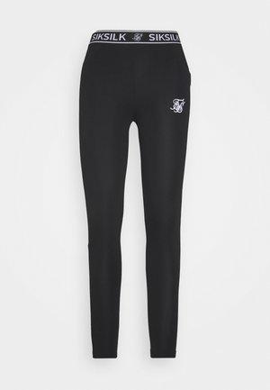 TAPE  - Leggings - Trousers - black