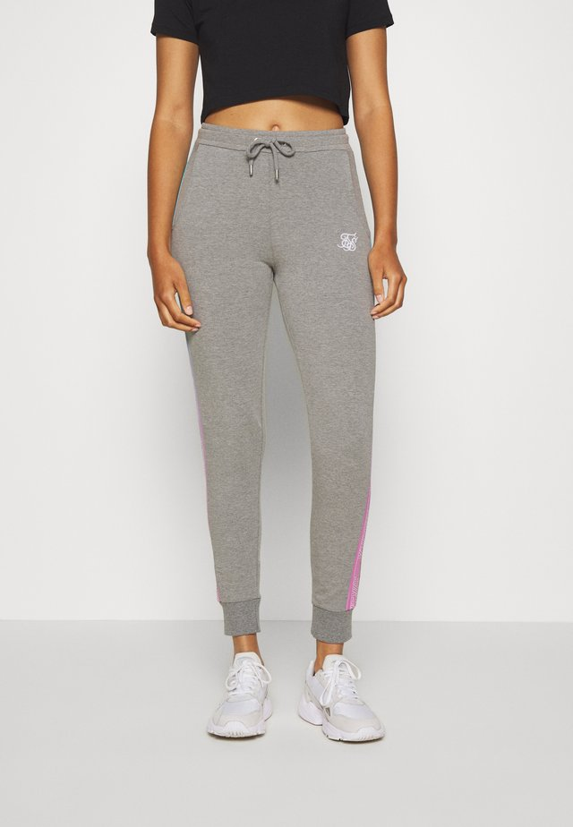 FADE RUNNER TRACK PANTS - Jogginghose - grey marl