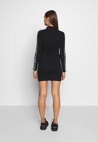 SIKSILK - HIGH NECK DRESS - Pouzdrové šaty - black - 2