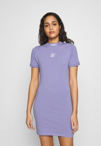 SIKSILK - BODYCON DRESS - Pouzdrové šaty - violet - 0
