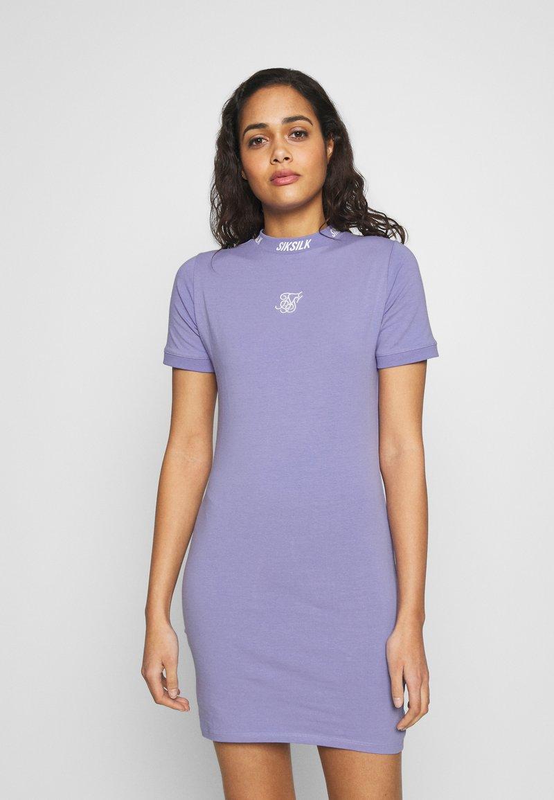 SIKSILK - BODYCON DRESS - Pouzdrové šaty - violet