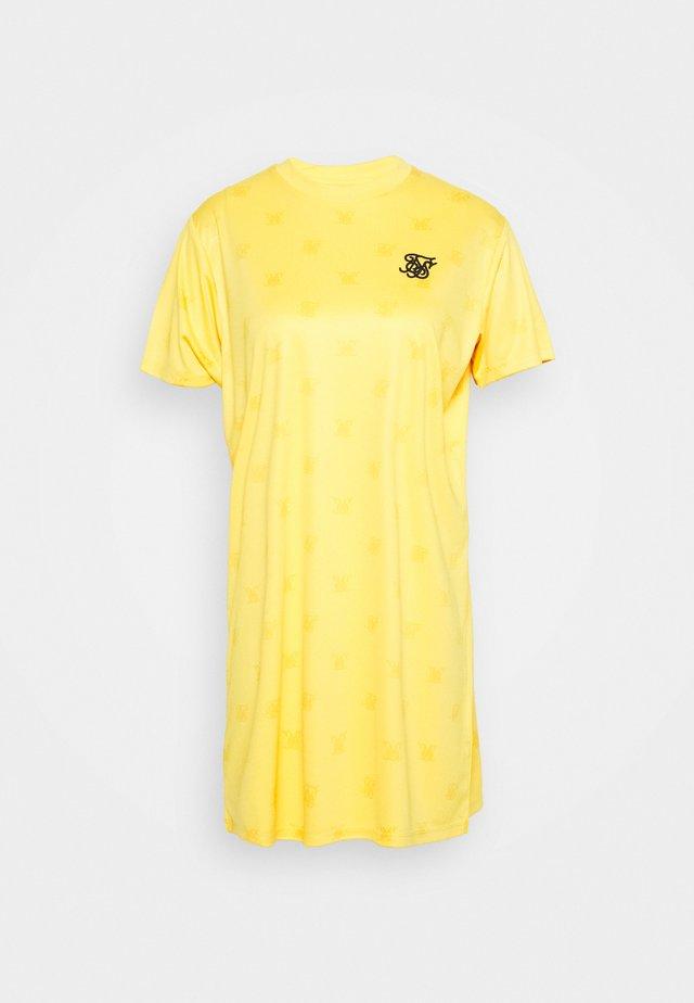 MONO DRESS - Vestido ligero - yellow