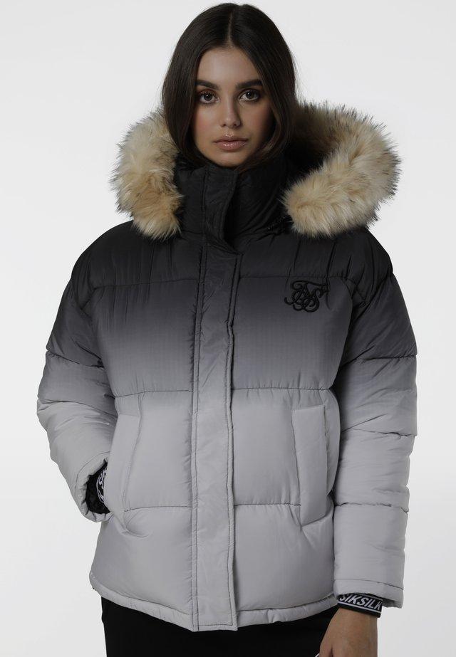 Winter jacket - black fade