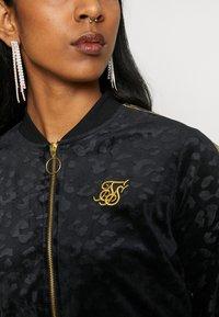 SIKSILK - DEBOSSED - Zip-up hoodie - black - 4