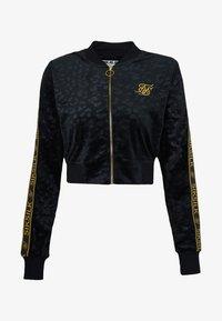 SIKSILK - DEBOSSED - Zip-up hoodie - black - 3