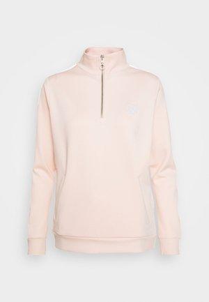 ZIP TAPE TRACK - Sweatshirt - cloud/pink