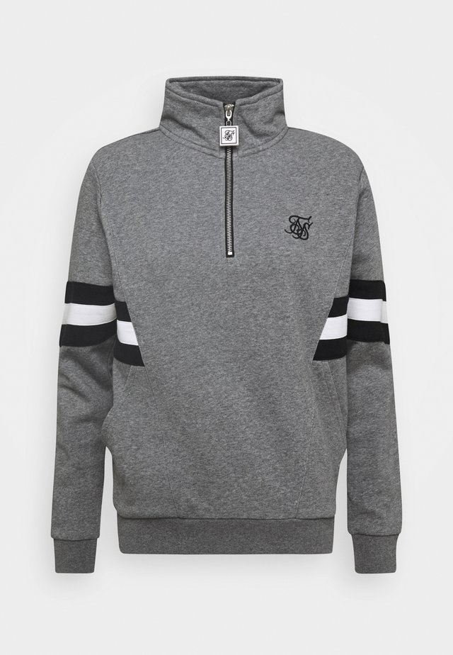 SPORTS LUXE TRACK - Sweatshirt - grey marl