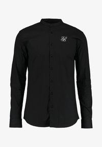 SIKSILK - OXFORD STRETCH FIT - Overhemd - jet black - 4