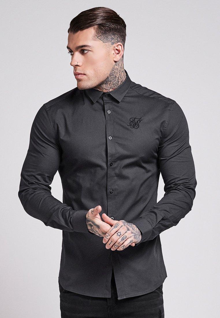 SIKSILK - STRETCH - Camisa - dark grey
