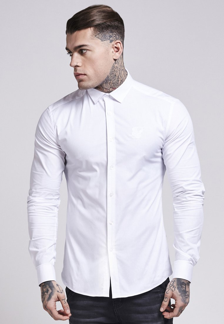 SIKSILK - STRETCH - Camisa - white