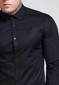 SIKSILK - STRETCH - Skjorta - black - 4