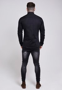 SIKSILK - STRETCH - Skjorta - black - 2
