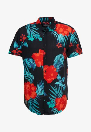 HAZY DAZE RESORT - Camicia - black/red/teal