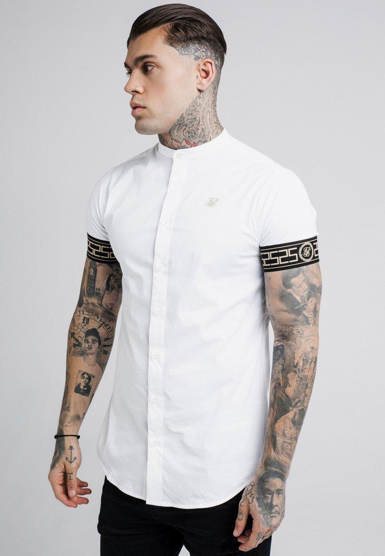 SIKSILK - CARTEL GRANDAD - Overhemd - white