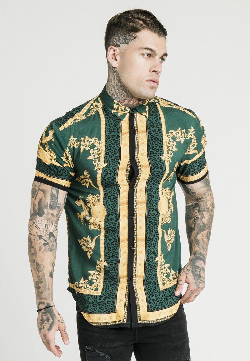 SIKSILK - RESORT LORD EMERALD - Camisa - green