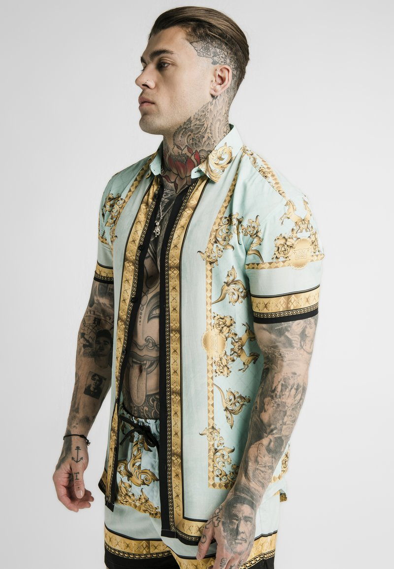 SIKSILK - RESORT SHIRT LORD - Chemise - blue