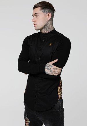 ROYAL VENETIAN MUSCLE FIT SLIDE SHIRT - Skjorta - black/deep red